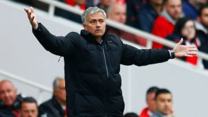 Is Jose Mourinho already on the hot seat at Man United? Photo by Julian Finney, Getty